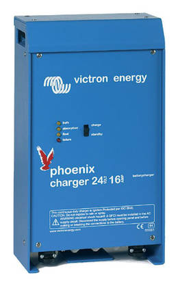 Akkulaturi Victron Energy Blue Power 16A 12V - Tehokkaat yli 10A laturit - 5002011820 - 1