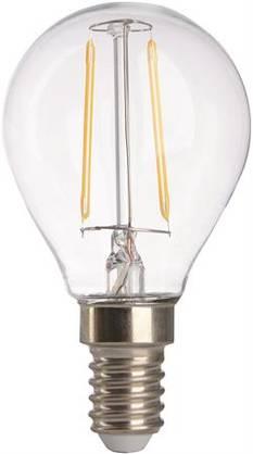 E14 Filamenttilamppu LED 2,5W pallokupu, Malmbergs - E14 led-lamput - 100200010 - 1
