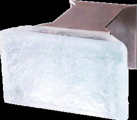 Winled Routa 5W led-seinävalaisin / lasitiili, 3000K/6000K - Led-seinävalaisimet - 20101070 - 1