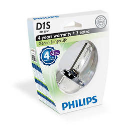 D1S Philips Longer life xenon-polttimo - D1S ja D1R - 1040700301 - 1