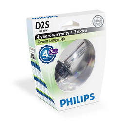 D2S Philips Longer life xenon-polttimo - D2R ja D2S - 1040700311 - 1