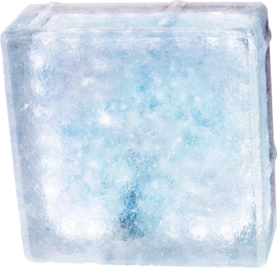 Winled Routa 2W led-valaisin / lasitiili ledillä, 3000K / 6000K - Upotettavat maavalaisimet - 20602011 - 1
