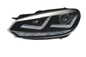 VW Golf VI xenon-ajovaloumpiot Osram, Chrome-look - VW - 8010200001 - 1