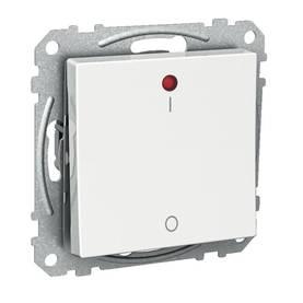 Schneider kontrollikytkin Exxact punaisella led-merkkivalolla - 2-control/16A/IP21 UKJ, WDE002562, 2112042 - Uppoasennettavat kytkimet - 60503012 - 1