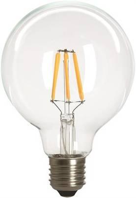 E27 Filamentti led-lamppu G95-kupu 3,6W, Malmbergs - E27 led-lamput - 100300043 - 1