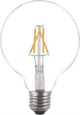 E27 Filamentti led-lamppu G125-kupu 3,6W, Malmbergs - E27 led-lamput - 100300044 - 1