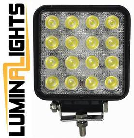 LED-työvalo 48W LuminaLights Viking - LED-työvalot 28 – 50W - 2020110054 - 1
