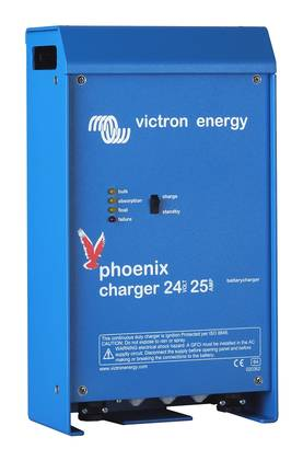 Akkulaturi Victron Energy Blue Power 25A 24V - Tehokkaat yli 10A laturit - 5002011825 - 1