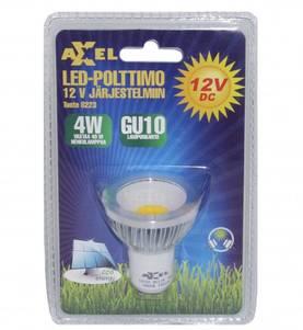 GU10 led-lamppu 12V-järjestelmiin, 4W Axxel - 12V-polttimot - 180401005 - 1