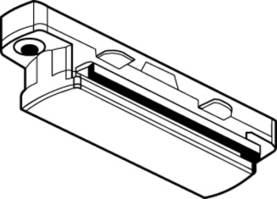 Global Trac GB21-3 jatkokappale 1-piiriseen kosketinkiskoon - Lisäosat ja tarvikkeet - 10703015 - 1