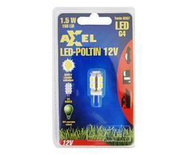 Led-lamppu G4 12V, maissipolttimo Axxel - G4/GU4 (MR11) led-lamput - 100500006 - 1