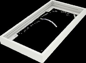 Pinta-asennuskehys Winled Eden 30x60 led-paneelille, valkoinen alumiini - Led-paneelien asennustarvikkeet - 10403006 - 1