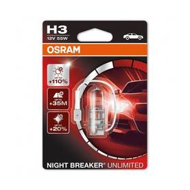 H3 Osram Night Breaker Unlimited - H3 Halogen-polttimot - 4060101457 - 1