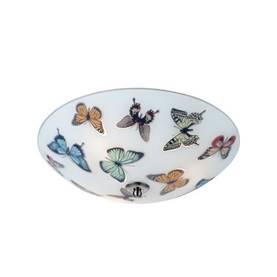 Markslöjd Butterfly plafondi Ø350 mm perhoskuviolla lastenhuoneeseen 105432 7330024542624 - Lasten kattovalaisimet - 30901007 - 1