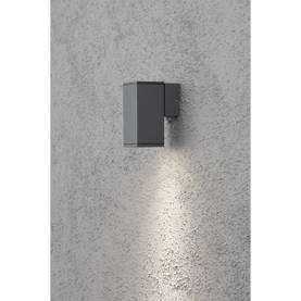 Ulkoseinävalaisin Konstsmide Monza GU10, yhteen suuntaan valaiseva, 7908-370, 4111890 - Muut seinävalaisimet - 20103017 - 1