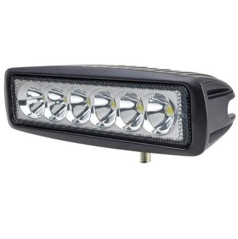 LED-työvalo Slim 18W Pitkä valokuvio, LuminaLights