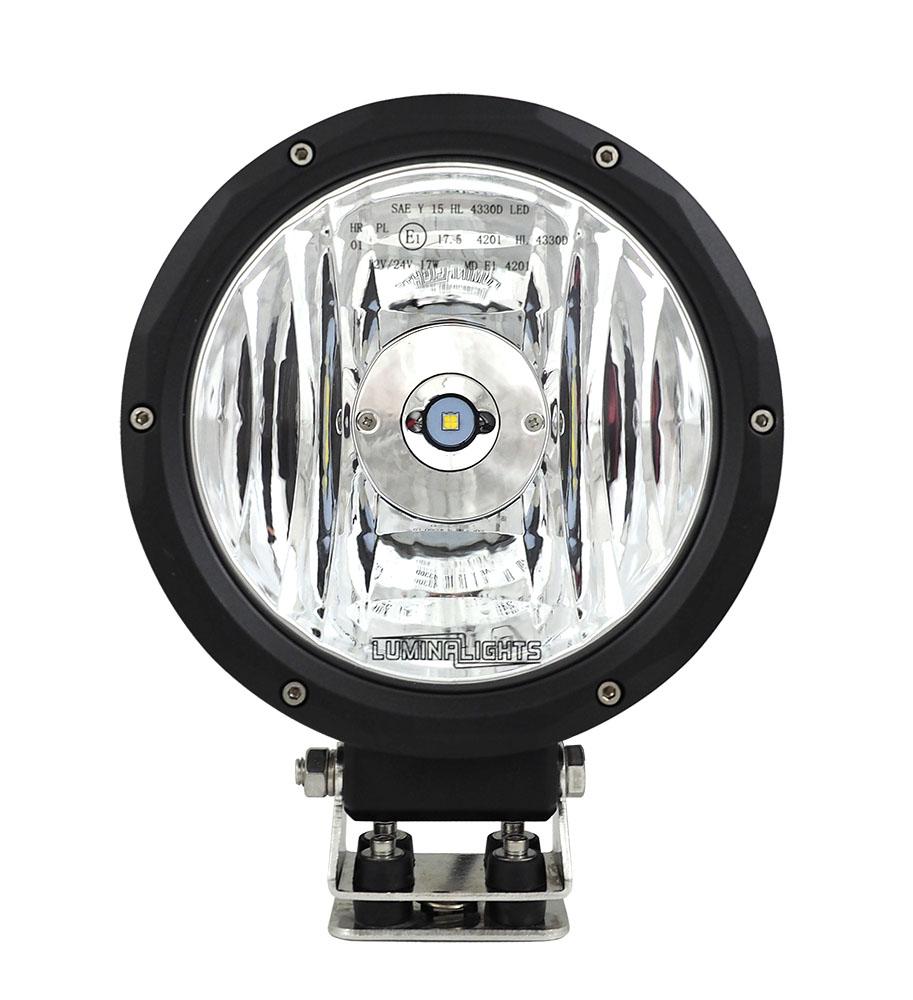 """LED-lisävalo, LuminaLights Lunar 7"""" Ref.17,5"""