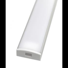 Asennusprofiili led-nauhalle + maitolasi, 2m - Profiilit led-nauhoille - 10205038 - 1