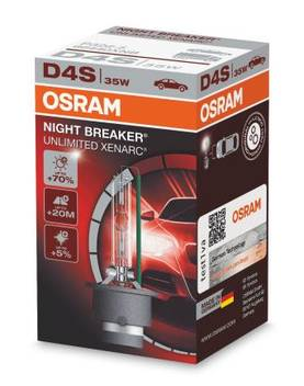 D4S Osram Night Breaker UL - D4S ja D4R - 1040700459 - 1