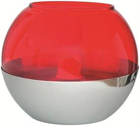 Pöytävalaisin Malmbergs Helena punainen - Pöytävalaisimet sisustamiseen - 30302089 - 1